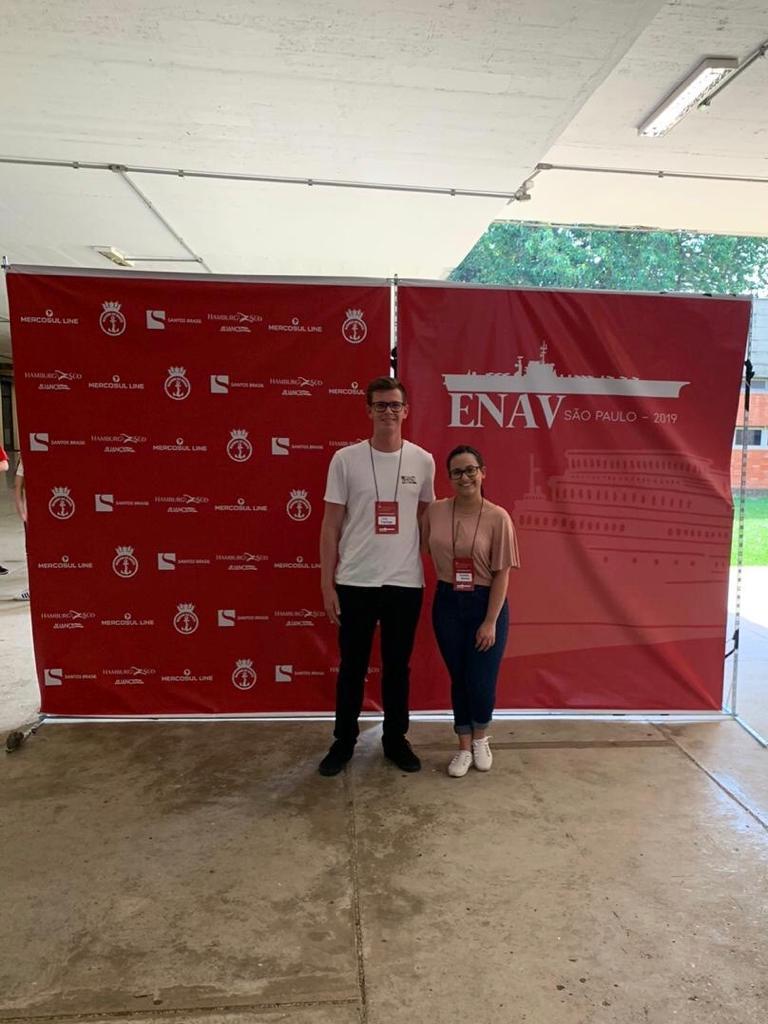 Alunos do LTS participam do 15º ENAV